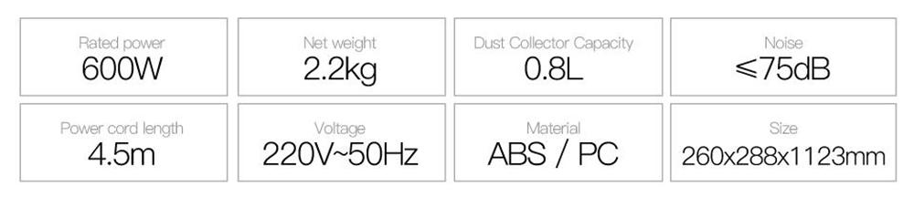 Pokončni sesalnik Xiaomi Deerma DX700