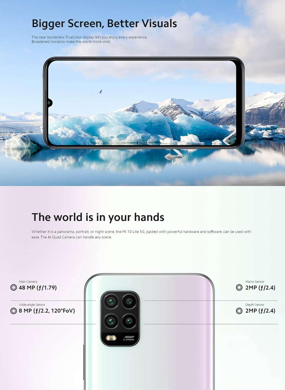 Pametni telefon Mi 10 Lite 5G