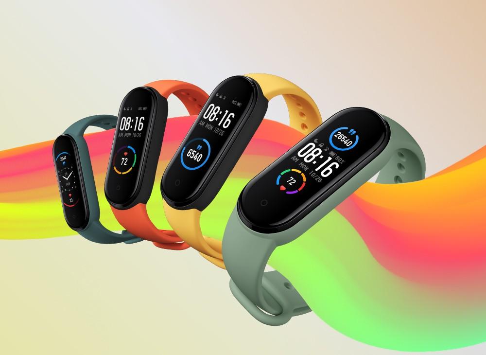 Xiaomi Mi Band 5 Pametna zapestnica - barve
