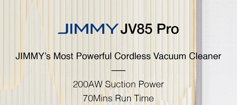 Pokončni Brezžični Sesalnik Xiaomi Jimmy JV85 PRO